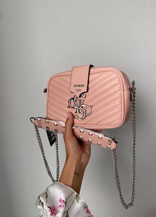 ❤ женская коралловая сумка сумочка ❤8 фото
