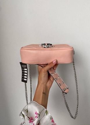 ❤ женская коралловая сумка сумочка ❤2 фото