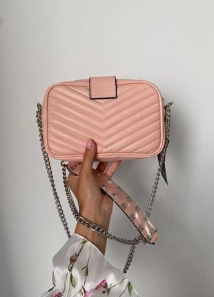 ❤ женская коралловая сумка сумочка ❤3 фото
