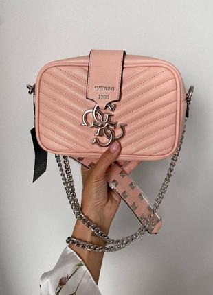 ❤ женская коралловая сумка сумочка ❤