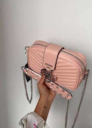 ❤ женская коралловая сумка сумочка ❤9 фото