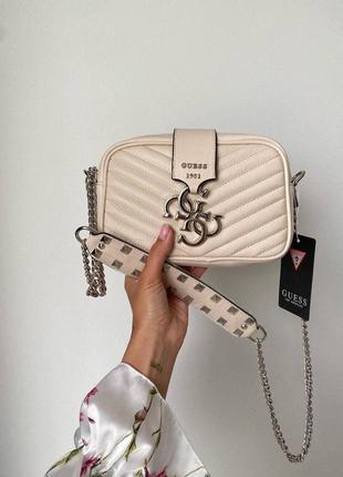❤ женская бежевая сумка сумочка ❤5 фото