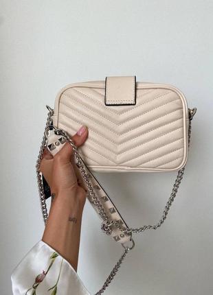❤ женская бежевая сумка сумочка ❤2 фото