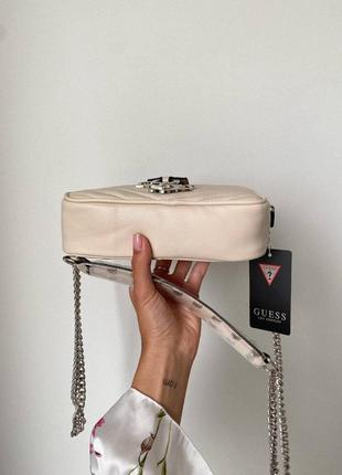 ❤ женская бежевая сумка сумочка ❤6 фото