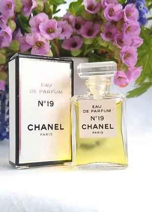 Миниатюра chanel no 19 от chanel, 4 мл, парфюмированная вода