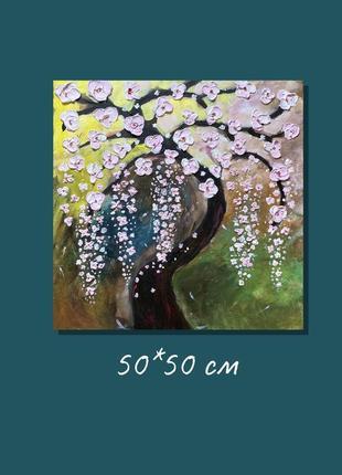 Авторская картина «сакура»