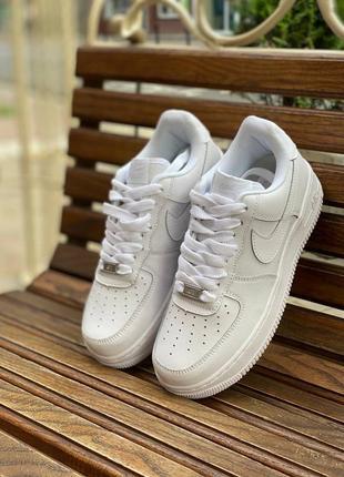 💥nike air force white (шкіряні)🔥