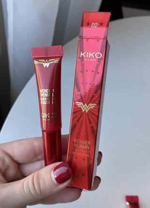 Помада румяна kiko milano wonder woman power flush lips&cheeks