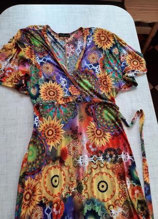 Яркое 🌞🌞🌞 красивое платье2 фото