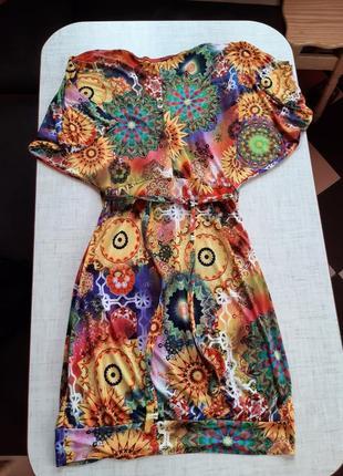 Яркое 🌞🌞🌞 красивое платье3 фото