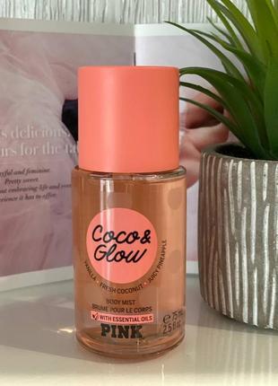 Мини мист для тела coco & glow victoria's secret pink