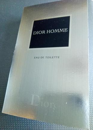 Dior homme туалетная вода (пробник)