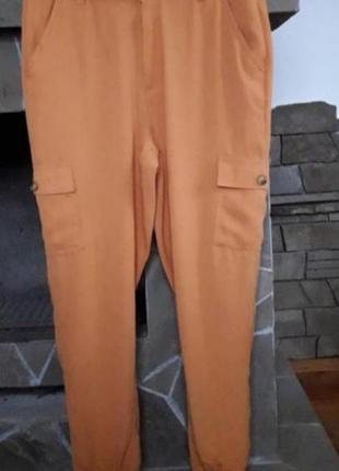 Очень классные штаны(джоггеры, карго) 52-54р
