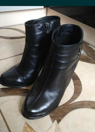 Шкіряні черевики 38р