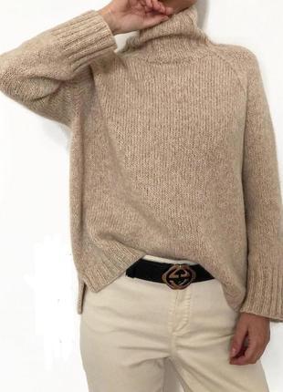 Базовый свитер, элитные составы итальянской пряжи