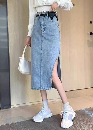 Юбка, спідниця джинсова
