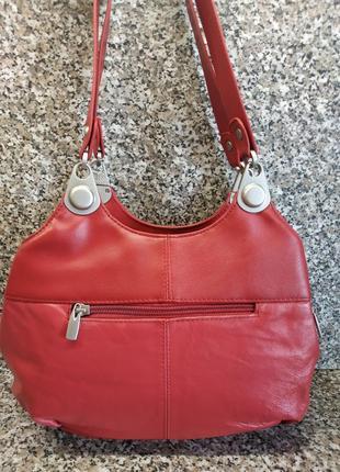 Кожаная сумка casa di borse италия натуральная кожа эко кожа3 фото