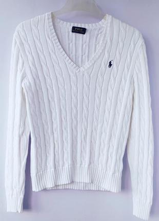 Джемпер свитер пуловер хлопок polo ralph lauren