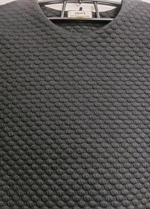 Свитшот из фактурной ткани кофта4 фото