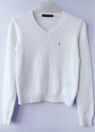 Пуловер свитер джемпер хлопок ralph lauren