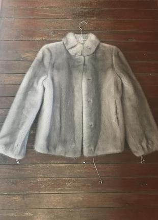 Норковый полушубок, шуба, курточка