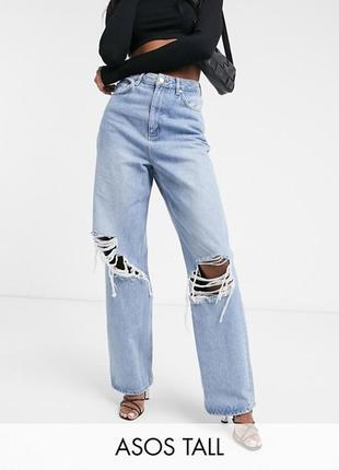 Свободные джинсы asos для высоких