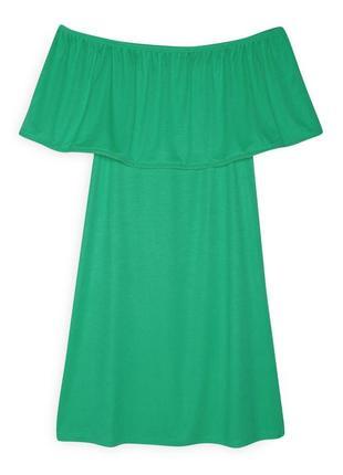 Платье со спущенными плечиками, primark