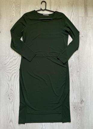 Зелёное платье cos