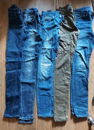 Распродажа! джинсы скинни,джогеры и американки без дефектов 25-25 р