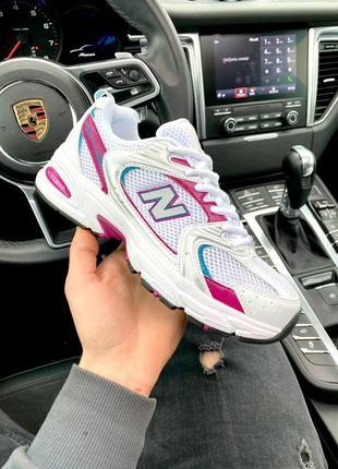 New balance 530 white\pink