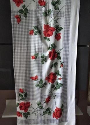 Скатерть с розами германия