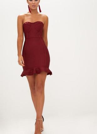 Идеальное платье бандажное