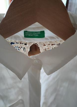 Тонкая хлопковая блуза3 фото