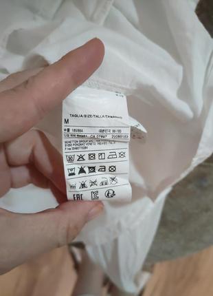 Тонкая хлопковая блуза5 фото