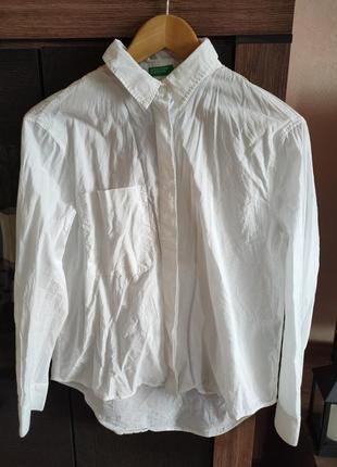 Тонкая хлопковая блуза2 фото