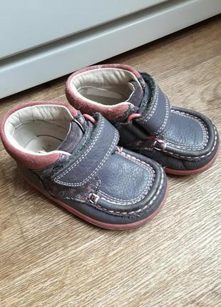 Ботиночки clarks 20 размер
