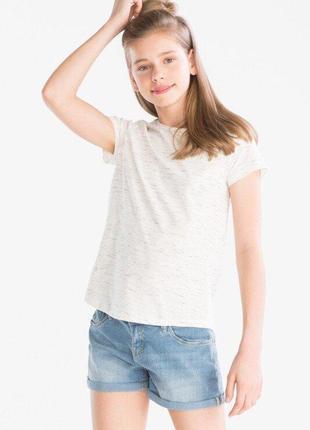 Легкая летняя футболка девочке  c&a р.134/140, 146/152