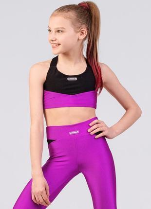 Топ фиолетовый для девочки