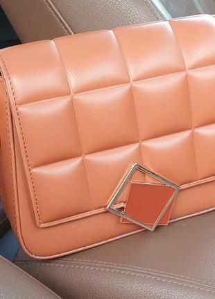 Жіноча сумочка-клатч із еко-шкіри2 фото