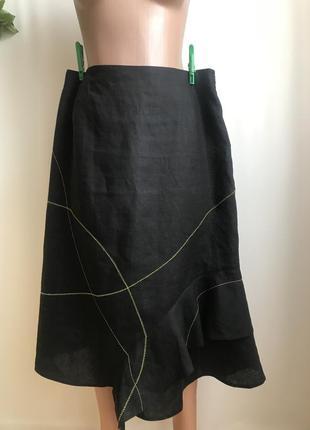Льняная юбка от christine laure 44