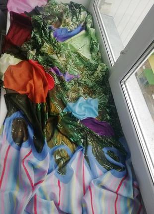 Крутий, фірмовий платок - палантин німецького дорогого бренду becksondergaard!!! оригінал!!!
