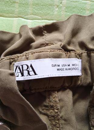 Кюлоты zara штаны брюки