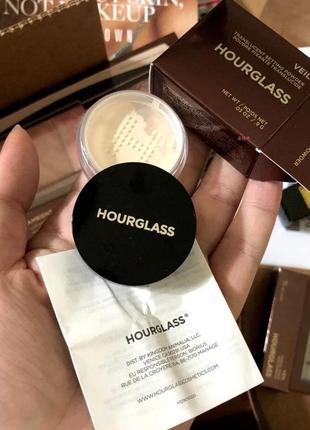 Финишная пудра hourglass veil translucent setting powder