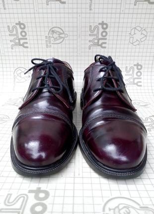 C&a westbury мужские туфли дерби лаковая кожа р 43 цвет гнилая вишня
