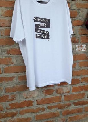 Супер стильна футболка большого размера!4 фото