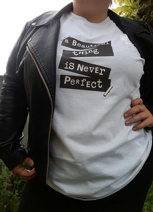 Супер стильна футболка большого размера!