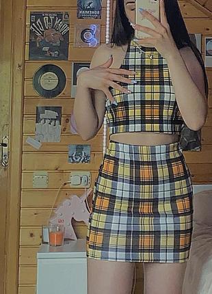 Комплект юбки и топа