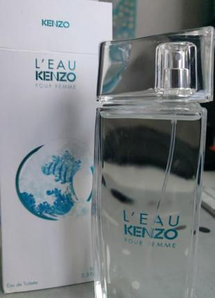 L'eau kenzo pour femme оригинальная туалетная вода 100мл