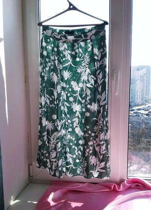 Красивая юбка натуральная вискоза