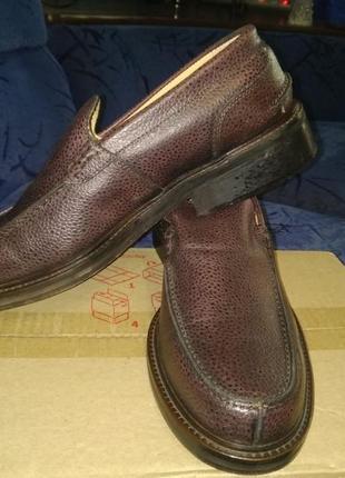 Туфли кожнаые